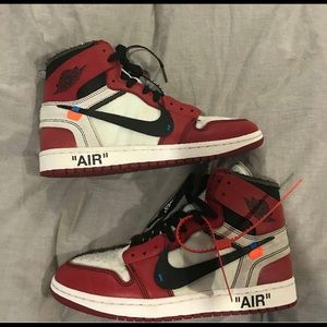 "Off-white Jordan retro high OG ""Chicago"""
